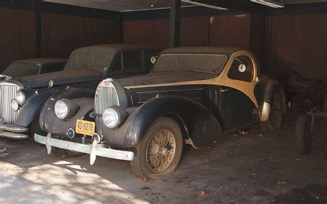 Find For Free Bugatti Barn Find Resurrected