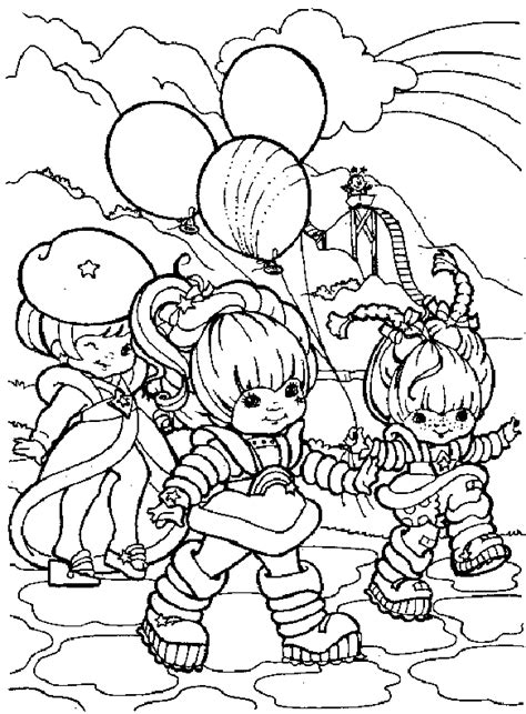 Rainbow Bright Coloring Pages Coloring Page Rainbow Brite Coloring Me by Rainbow Bright Coloring Pages