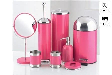 pink and black bathroom accessories fuchsia bathroom accessories 28 images 1000 ideas about bathroom accessories sets on