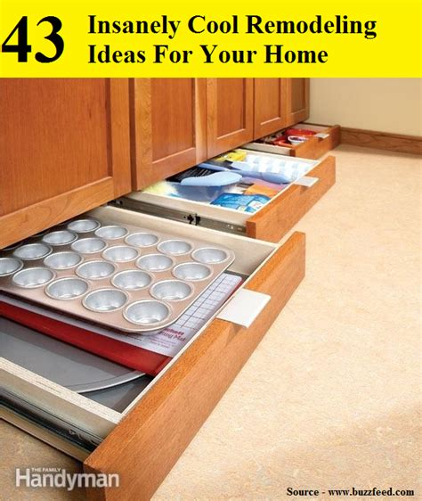 43 insanely cool remodeling ideas for your home home and