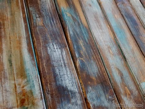 Painting Over Fake Wood Paneling make new wood look like old distressed barn boards