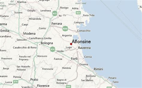 di romagna alfonsine alfonsine location guide