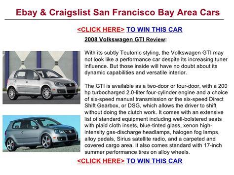 ebay craigslist san francisco bay area cars