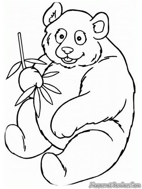 kartun hewan panda