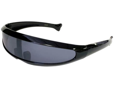 android glasses black wrap robot trekkie devo hair band robotica android sunglasses 1980s ebay