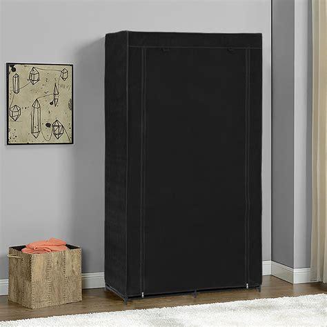 wohnzimmer schränke neu holz 174 kleiderschrank 162x90 schwarz stoff falt schrank