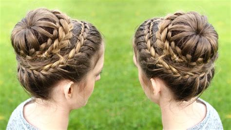 hairstyles for women with double crowns braided princess hairstyles fade haircut
