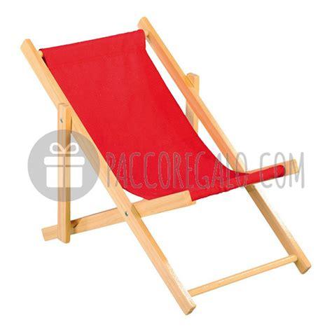 sedia a sdraio in legno sedia sdraio in legno e tessuto colori vari cm 26 x 18 cm