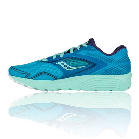 blue running shoes womens new trainers saucony kinvara 7 womens running shoes aw16