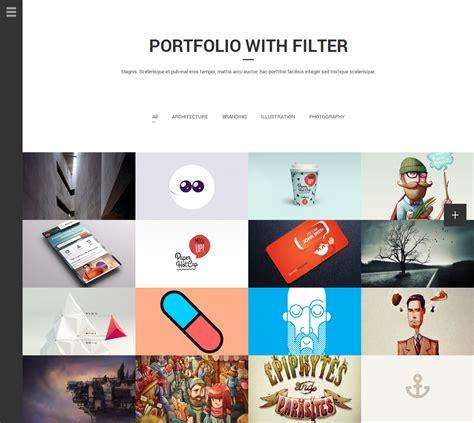 theme forest list aside photo portfolio sidebar wordpress theme by bwsm