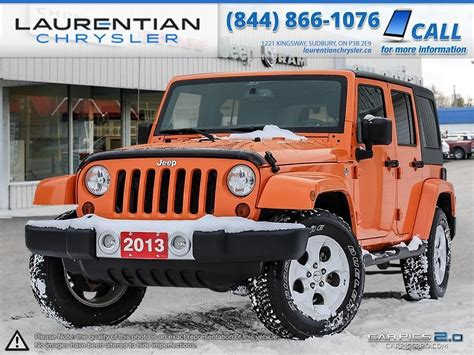 Soft Top For Jeep Wrangler Unlimited 2013 Pre Owned 2013 Jeep Wrangler Unlimited Manual Trans