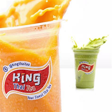 king thai tea branding  behance