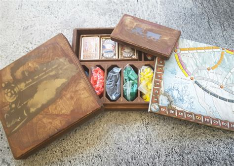 Wood Boardgame Card Holder Template by Board Source On Flipboard