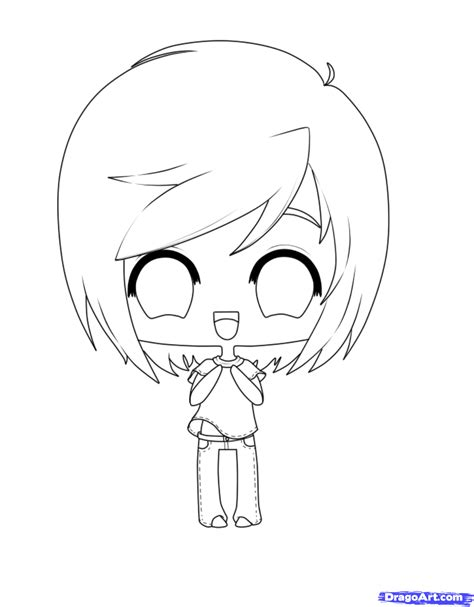 chibi minecraft coloring pages how to draw chibi clothes step by step chibis draw