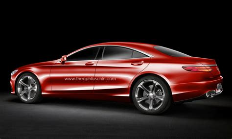 S Class 4 Door Coupe by Improbable Four Door Version Of The S Class Coupe Looks