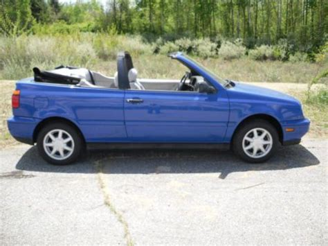 1998 Volkswagen Cabrio by Find Used 1998 Volkswagen Cabrio Gl Convertible 2 Door 2