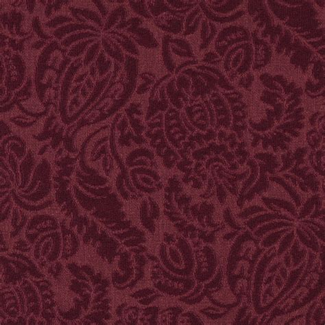 burgundy upholstery fabric burgundy large scale floral woven matelasse upholstery
