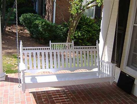 Victorian Porch Swing