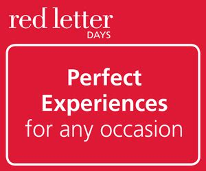Experience Letter Days experience days sporting gift ideas merchandise letter days