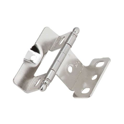 amerock cabinet hinge parts amerock inset tip hinge sterling nickel sold