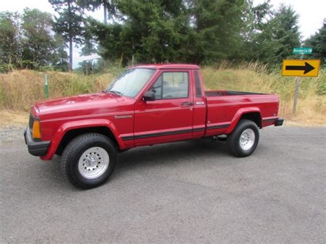 jeep comanche lowered 1990 jeep comanche pioneer standard cab pickup 2 door 4 0l