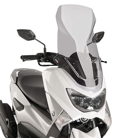 Serpo Yamaha Nmax Pangkon Windshield Nmax windshield puig v tech line yamaha nmax 125 15 17 light smoke