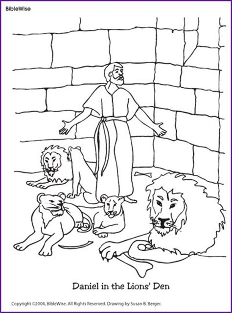 17 Best Images About Sunday School On Pinterest Sunday Daniel And The Lions Den Coloring Pages