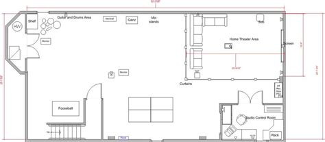 Basement Floor Plan Ideas Free Basement Design Layouts 8 Home Ideas Enhancedhomes Org
