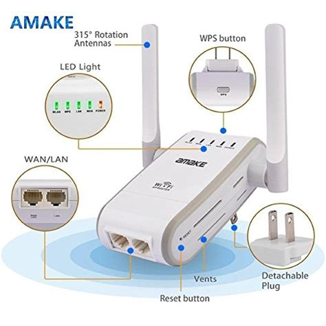 resetting wifi repeater amake wifi router wireless n300 repeater range extender