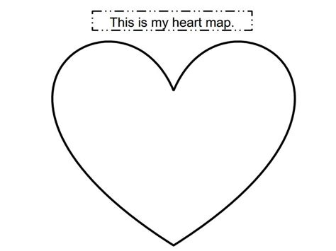 search results for heart shaped writing template