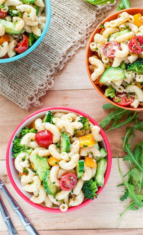 vegetarian pasta salad recipe classic italian veggie pasta salad peas and crayons