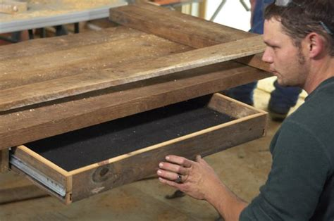 Diy Desk Drawer Woodwork How To Make A Wood Desk Pdf Plans