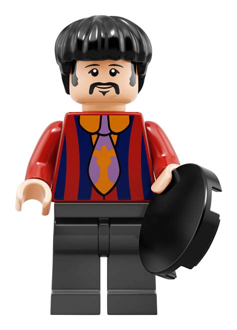 The Beatles Lego Minifigure we all live in an official lego yellow submarine kotaku australia