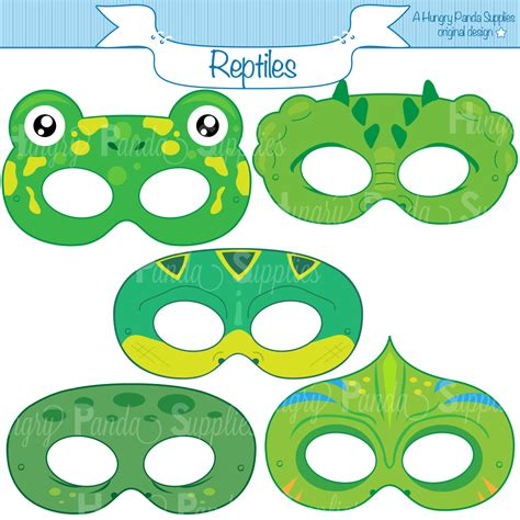 How To Make A Crocodile Mask Out Of Paper - printable crocodile mask printable 360 degree