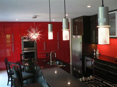 future house kitchen love the red on walls and ceiling 17 best images about red dark zebra kitchen ideas on