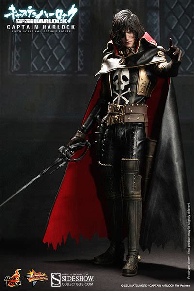 captain harlock captain harlock with throne of arcadia sideshow collectibles