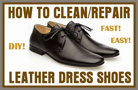 How To Condition Leather by How To Clean And Preserve A Pair Of Leather Dress Shoes