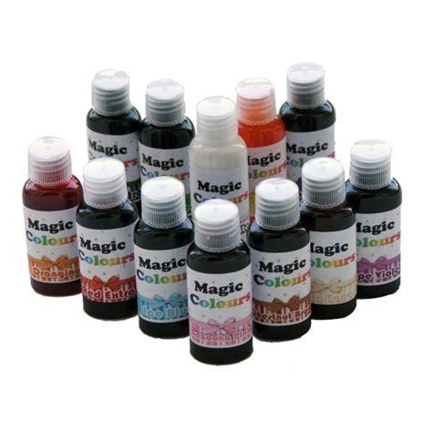 magic colors magic colours pro food paste colours 32g