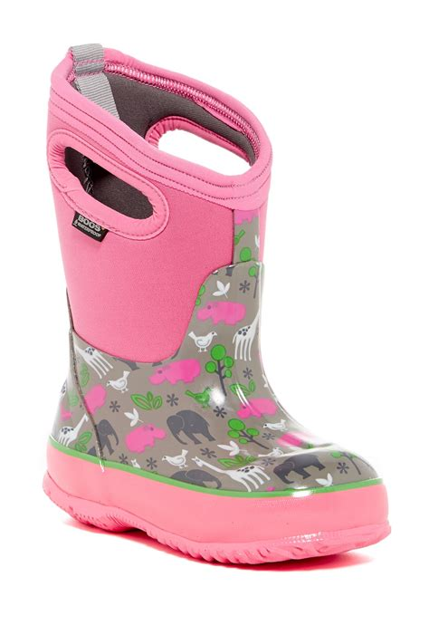 bogs toddler boots bogs classic animals waterproof winter boot toddler
