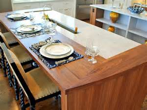 countertop ideas for kitchen unique kitchen countertops pictures ideas from hgtv hgtv