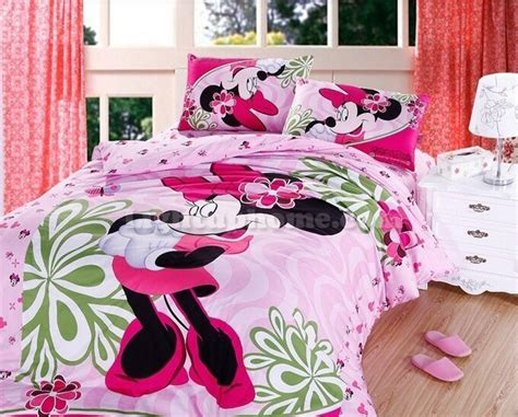 minnie mouse bedroom minnie mouse twin bedding cartoon sweet mickey and minnie