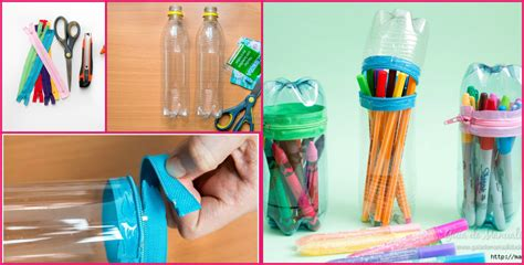 Handmade Things With Plastic Bottles - how to make pencil from plastic bottle craft