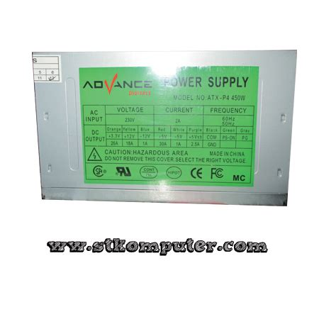Advance V2130 Power Supply 450 Watt power supply advance 450w