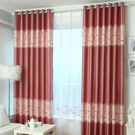 geometric print curtains red geometric print polyester insulated modern bedroom
