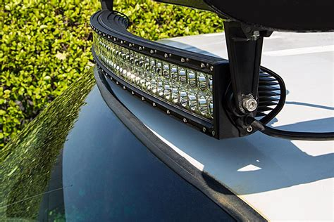 Light Bar On Top Of Truck by 40 Quot Road Curved Led Light Bar 240w 19 200 Lumens