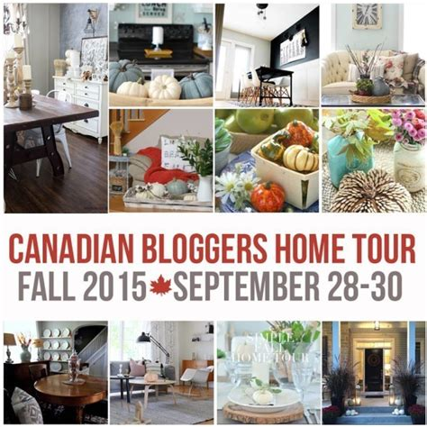 summer decorating ideas canadian bloggers home tour a canadian bloggers home tours our fall home a pop of