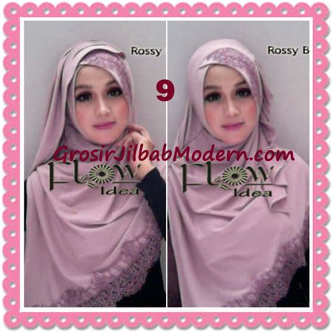 Ciput Renda Silang jilbab instant syria renda silang trendy annisa by flow idea no 9 rossy brown grosir jilbab