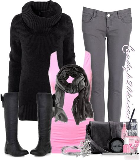 light pink cowl neck sweater quot bow boots quot how adorable light pink tank black