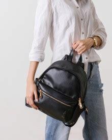 Lomberg Backpack Adrien Black Denim Tas Punggung Bag Hitam lomberg denim bags