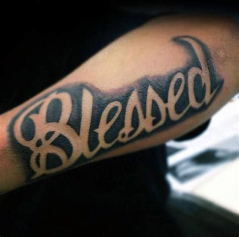 blessed tattoos on arm best 25 blessed tattoos ideas on with